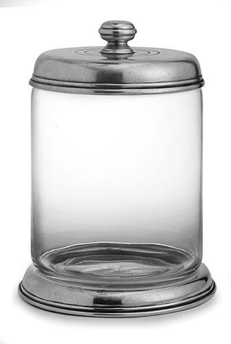 Arte Italica  Tavola Large Glass Canister $300.00