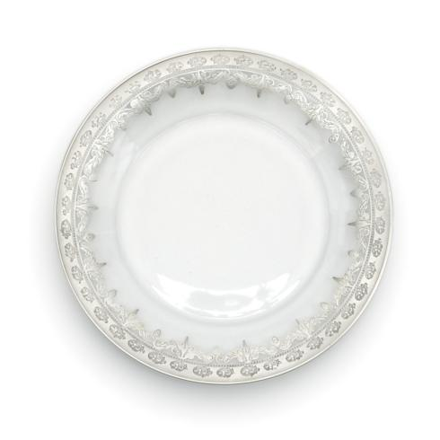 Silver Dinner Plate