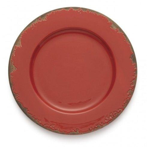Arte Italica  Scavo Red Charger $60.00
