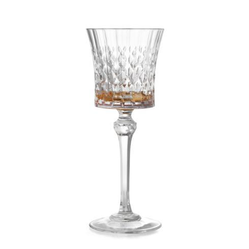 $65.00 Amber Wine Glass