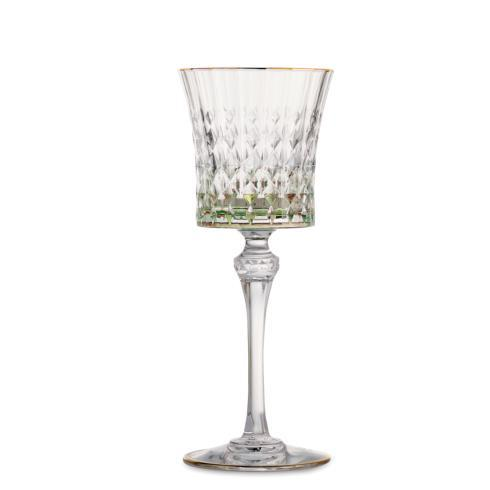 $80.00 Green Wine Glass