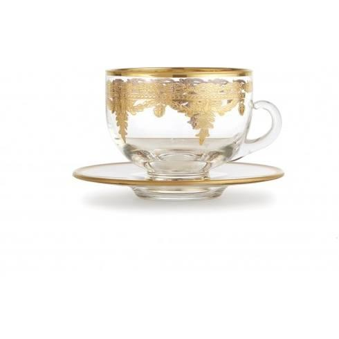 $109.00 Gold Coffee Cup/Saucer