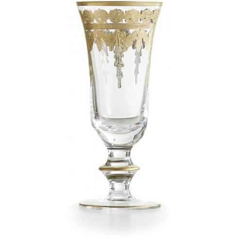 $88.00 Gold Flute Glass