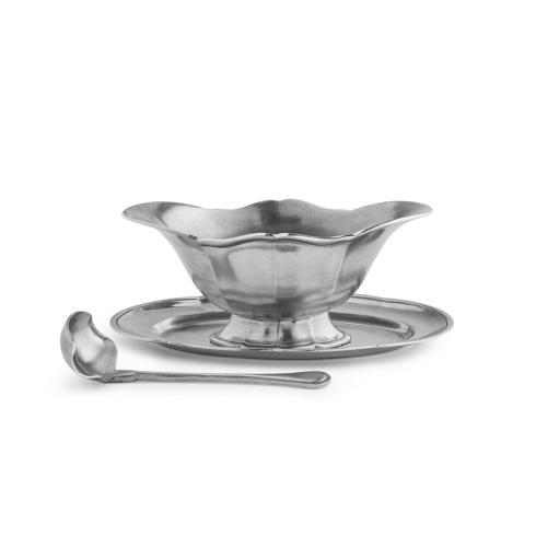 Arte Italica  Tavola Gravy Boat with Tray and Ladle $315.00