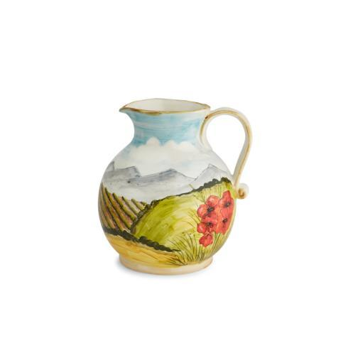 $157.00 Pitcher with Poppies