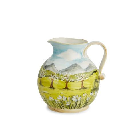 $175.00 Pitcher with White Blossoms
