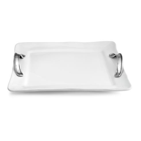 Arte Italica  Tuscan Square Tray with Handles $187.00