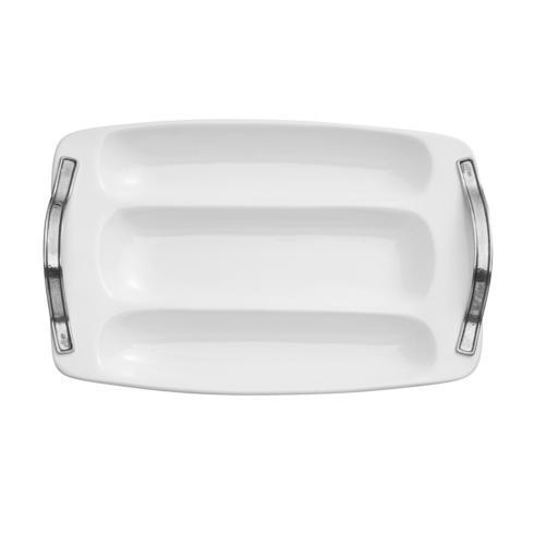 Arte Italica  Tuscan Large Divided Tray $210.00