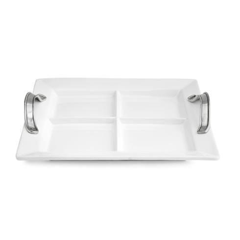 $210.00 Divided Square Tray