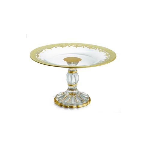 $210.00 Gold Petit Four Stand