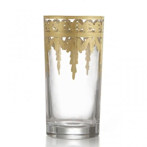 Arte Italica  Vetro Gold Highball $90.00