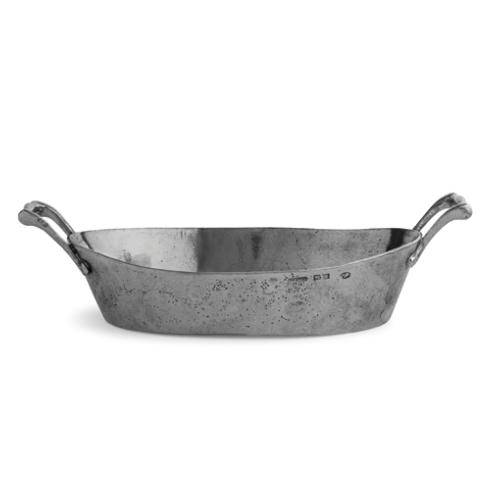 $252.00 Oval Bowl with Handles