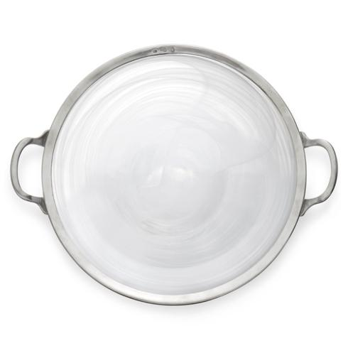 $315.00 Round Platter with Handles