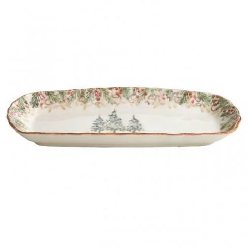 $67.00 Natale Rectangular Tray