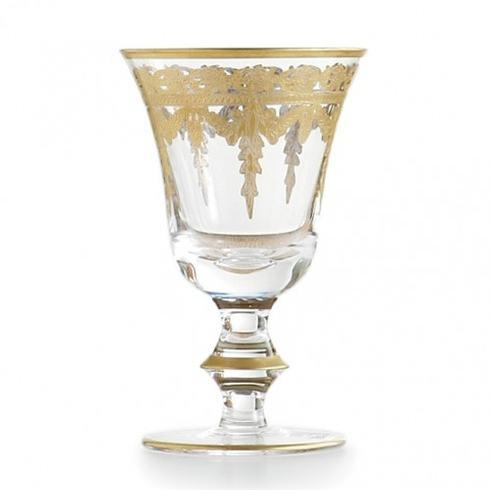 Arte Italica  Vetro Gold Wine Glass $88.00