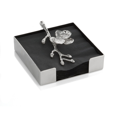 Michael Aram   Napkin Holder White Orchid $65.00