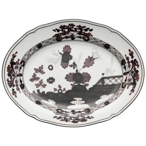 $225.00 Oval Platter Oriente Ita Albus