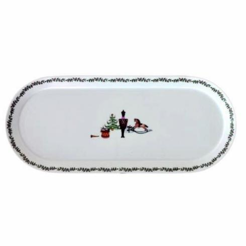 $380.00 Grenadiers Rectangle Cake Plate