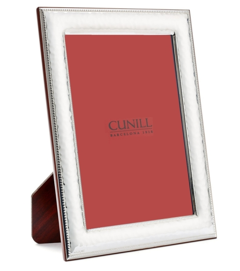 Cunill   8X10 Hammered Sterling Frame $90.00