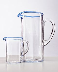 Lindean Mill Glass   Pitcher $220.00