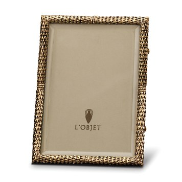 $185.00 5x7 Gold Scales Frame