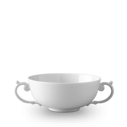 L'Objet   Aegean White Soup Bowl  $56.00