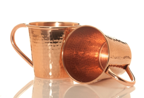 $42.00 18oz Mug Copper Handle