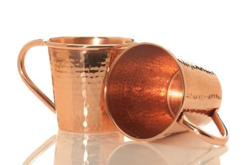 Sertodo Copper   18oz Mug Copper Handle $42.00