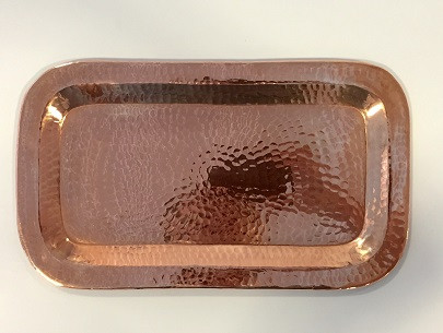 "$44.00 Tray 12x17"" Copper"
