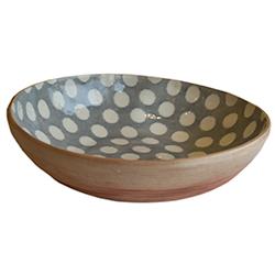 $198.00 Medium Oval Dot Bowl