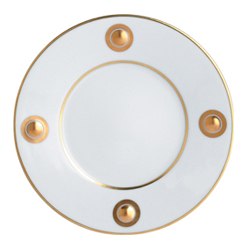 Bernardaud   Ithaque Gold Accent Salad Plate $85.00