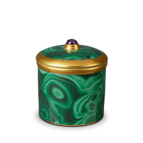$135.00 L\'objet Malachite Candle