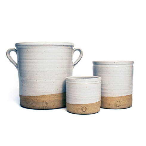 Farmhouse Pottery   Mini Silo Crock $51.00