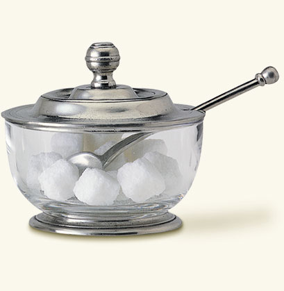 Match   Sugar Bowl w/Spoon $160.00