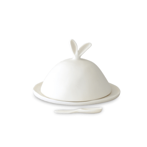 Tina Frey Designs   Lg Covered Dish with Cheese Spreader $375.00