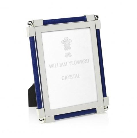 William Yeoward   5x7 Dk Blue Shagreen Frame $280.00