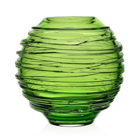 "$295.00 Miranda 6"" Citrine Globe Vase"