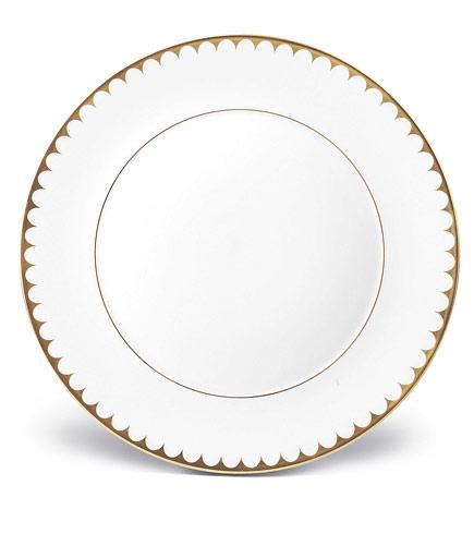 L'Objet   Aegean Gold Filet Dinner Plate $136.00