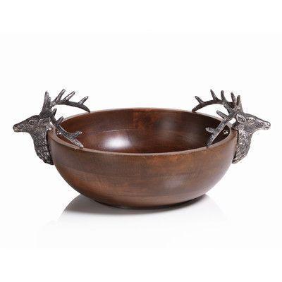 $65.00 Bolton Stag Head Small Bowl ZOD-886