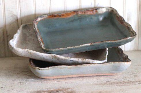 Etta B Pottery  Serving Pieces Rectangular Baker Assorted EBP-401 $61.00