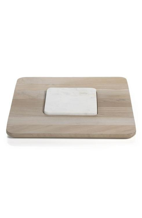 Viceroy Square Teak/Marble Cheese Board ZOD-059