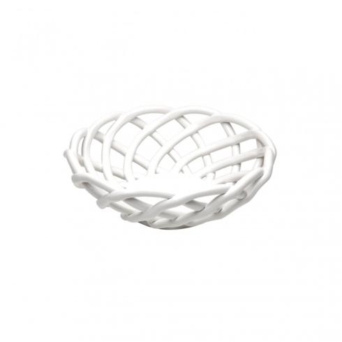 Babcock Exclusives  Casafina White Medium Round Basket CSF-540 $53.00