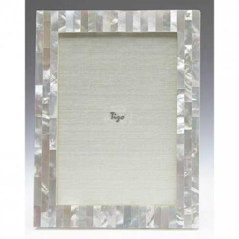 $208.00 Mother of Pearl 8x10 Pearl White TIZ-827