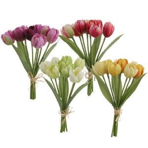 "$60.00 25"" White French Tulip Bundle NAP-503"