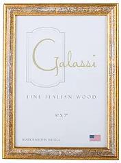 F.G. Galassi   Gold w/White Wash Frame 2x3 FGH-024 $19.00