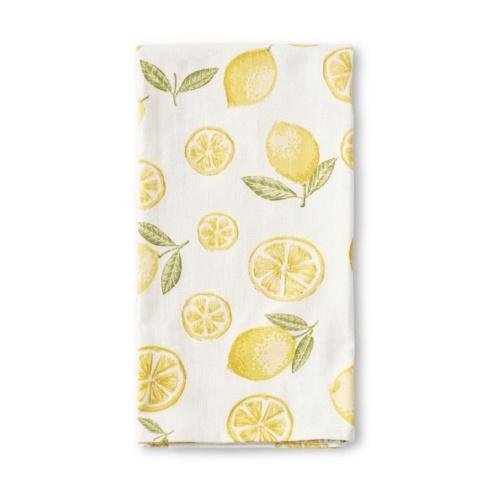 Babcock Exclusives  K&K Interiors Lemon Cotton Towel KAK-044 $7.50