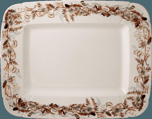 Gien   Rectangular platter foliage $270.00