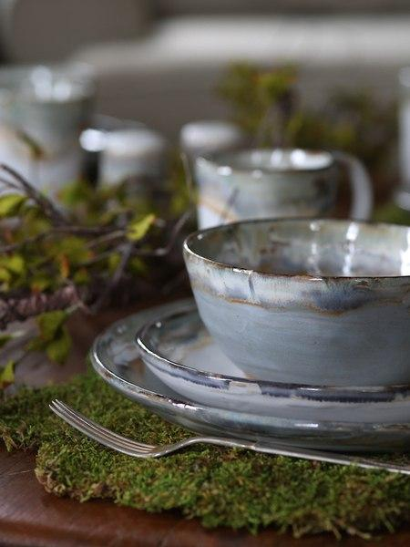 Etta B Pottery  Dinnerware - Townhouse Peaceful Bowl EBP-724 $33.00