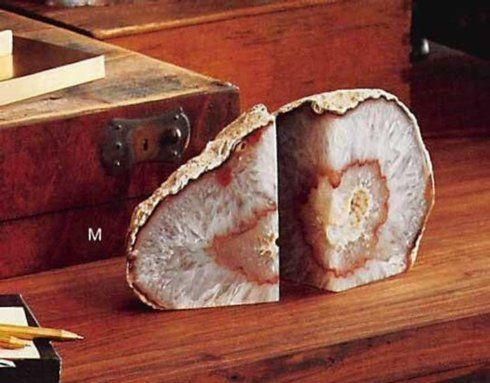 Roost   Agate Small Bookends RST-153 $66.00