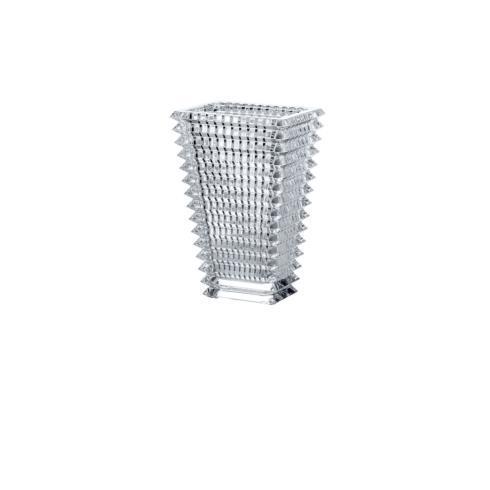 $650.00 Small Rectangular Clear Eye Vase BCX-383